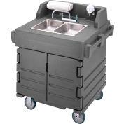 Cambro KSC402191 - Camkiosk Hand Sink Cart, Granite Gray