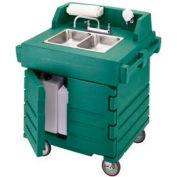 Cambro KSC402519 - Camkiosk Hand Sink Cart, Green