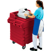 Cambro KWS40158 - Work Station, Hot Red