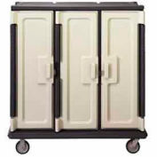 Cambro MDC1411T60191 - Meal Delivery Cart Tall, 3 Doors, 60 x 29-1/4 x 63-5/8, HD Casters, Gray