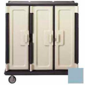 Cambro MDC1411T60401 - Meal Delivery Cart Tall Profile, 3 Doors, 60 x 29-1/4 x 63-5/8, Slate Blue
