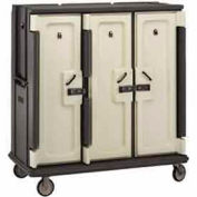 Cambro MDC1520T30191 - Meal Delivery Cart Tall Profile, 3 Doors, 60 x 29-1/4 x 63-5/8, Gray