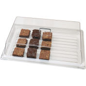 "Cambro RD926CW135 - Display Rectangular Cover 9"" x 26"", Clear"