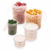 "Cambro RFS1PP190 - Storage Container, Round, 1 Qt., 6-1/16"" Dia. x 5""H, Translucent, Polypropylene - Pkg Qty 12"