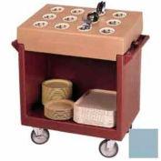 Cambro TDCR12401 - Dish Cart & 12-Comp / 38-1/8x22-3/4x41-1/4 / Slate Blue