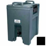 Cambro UC1000110 - Ultra Camtainer Beverage Carrier, Insulated Plastic, 10-1/2 Gal. Capacity, Black