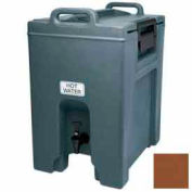 Cambro UC1000131 - Ultra Camtainer Beverage Carrier, Insulated Plastic, 10-1/2 Gal. Capacity, Brown