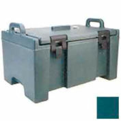 Cambro UPC100192 - 100 Series Food Pan Carrier, Top Loading, Cap. 40 Qt., Granite Green