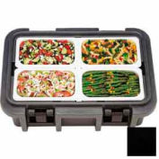 Cambro UPC140110 - Camcarrier Ultra Pancarrier Top Loading, Cap. 12 Qt., Stackable, Black