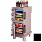 Cambro UPC600110 - Ultra CamCart Food Pan Carrier, Front Loading, Cap. 45 Qt., Black
