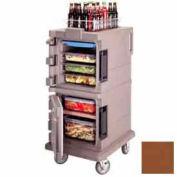 Cambro UPC600131 - Ultra CamCart Food Pan Carrier, Front Loading, Cap. 45 Qt., Dark Brown
