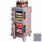 Cambro UPC600191 - Ultra CamCart Food Pan Carrier, Front Loading, Cap. 45 Qt., Granite Gray