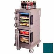 Cambro UPC600192 - Ultra CamCart Food Pan Carrier, Front Loading, Cap. 45 Qt., Granite Green