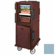 Cambro UPCHT800401 - Ultra CamCart Heated Food Pan Carrier, Heated Top Door, Front Loading, Blue