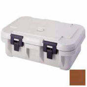 Cambro UPCS140131 - Camcarrier S-Series Pancarrier, Top Loading, Stackable, Insulation, Dark Brown