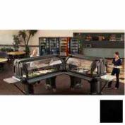 "Cambro VBRL6110 - Versa Food Bars™Serving Buffet, Cold Food, 72"" x 29"" (Low), Black"