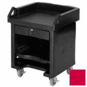 Cambro VCS158 - Versa Cash Register Cart Lockable Center Drawer, Hot Red