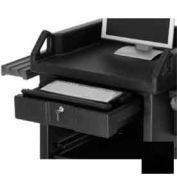 Cambro VCS32KEYT110 - Versa Cart Keyboard Tray, Black, NSF