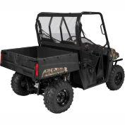 Classic Accessories UTV Rear Windshield, Polaris Ranger Mid, Black - 18-105-010401-00