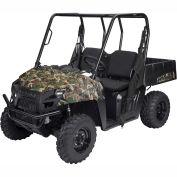 Classic Accessories UTV Bench Seat Cover Set, Polaris Ranger Mid, Black - 18-140-010403-00