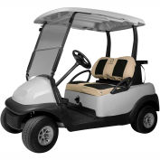 Classic Accessories Fairway Golf Car Set Cover Neoprene Paneled, Khaki - 40-034-015801-00