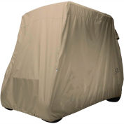 Classic Accessories Fairway Golf Car Cover, Long Roof, Khaki - 40-039-345801-00