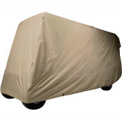 Classic Accessories Fairway Golf Car Quick-Fit Cover, 6 Pass, X Long Roof, Khaki - 40-042-345801-00