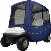 Classic Accessories Fairway Deluxe Golf Car Enclosure, Short Roof, Navy - 40-052-335501-00