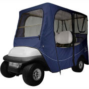 Classic Accessories Fairway Deluxe Golf Car Enclosure, Long Roof, Navy - 40-053-345501-00