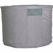 Evaporation Cooler Cover - Round - 40 x 34, Gray