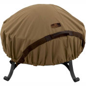 Classic Accessories Hickory Fire Pit Cover 55-199-012401-EC Fits Small 44 inch Diameter, Tan