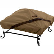 Classic Accessories Hickory Fire Pit Cover 55-200-012401-EC Fits 40 inch Square, Tan