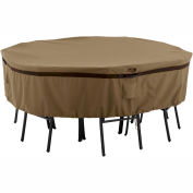 Classic Accessories Hickory Table and Chair Cover 55-217-022401-EC Round, Small, Tan