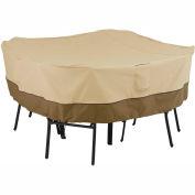 Classic Accessories Veranda Square Table and Chair Cover 55-227-011501-00 Medium