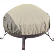 Classic Accessories Belltown Fire Pit Cover 55-261-011001-00 Round, Grey