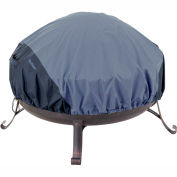 Classic Accessories Belltown Fire Pit Cover 55-284-025501-00 Round, Blue