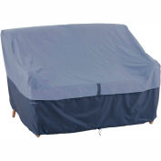 Classic Accessories Belltown Loveseat Cover 55-287-015501-00 Medium, Blue