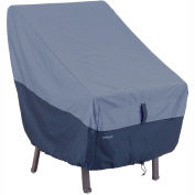 Classic Accessories Belltown High Back Chair Cover 55-292-015501-00 Blue