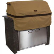 Classic Accessories Hickory Built-In BBQ Grill Top Cover 55-332-032401-EC Medium, Tan