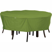 Classic Accessories Sodo Patio Table and Chair Cover 55-345-011901-EC Round, Medium, Herb