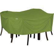 Classic Accessories Sodo Patio Table and Chair Cover 55-347-031901-EC Square, Medium, Herb