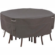 Classic Accessories Patio Table & Chair Set Cover 55-157-035101-EC, Ravenna Series, Round, Medium