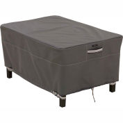 Classic Accessories Ottoman/Side Table Cover 55-167-045101-EC, Ravenna Series, Square, Large