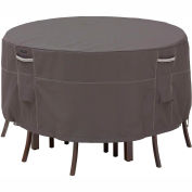 Classic Accessories Patio Table & Chair Set Cover 55-187-015101-EC, Ravenna Series, Round, Tall
