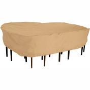 Terrazzo Patio Table & Chair Set Cover - Medium, Rectangular / Oval
