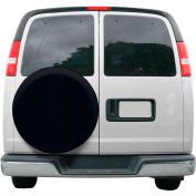 """OverDrive Universal Fit Spare Tire Cover - 30"""" - 33"""" Dia., Black"""