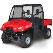 QuadGear Extreme UTV Cab Enclosure - Yamaha Rhino, Black