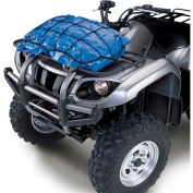 "QuadGear ATV Stretch Cargo Net 15"" x 15"", Black"