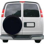 "Classic Accessories OverDrive Custom Fit Spare Tire RV Cover, Black, 26.75""-27.75"" -80-204-170402-00"