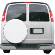 Classic Accessories Overdrive Universal Fit Spare Tire RV Cover, White, Small - 80-217-022301-00